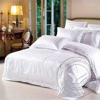 60S satin jacquard 300 thread count hotel bedding set thumbnail image