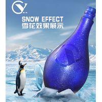 Frozen effect glass frosting powder
