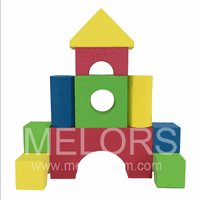Melors Intelligent DIY Foam Block Toy For Kids