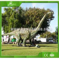 Kawah Simulation Animatronic Brachiosaurus Dinosaur for Dinosaur Park