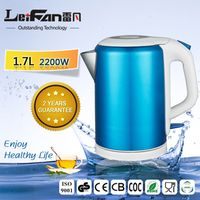fast heating cool touch 1.7 liter cordless kettle