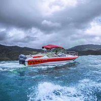 7.6m fiberglass passenger boat