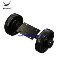 Morooka transport dumper rubber track undercarriage top roller assy MST 1500 carrier roller