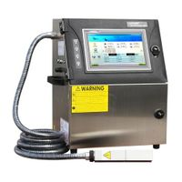 Auto high speed QR code data printer ink marking machine 810