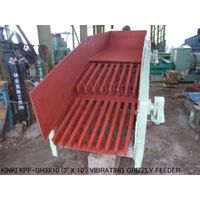 USED KINKI MODEL KPF-GH3x10 (3' X 10') VIBRATING GRIZZLY FEEDER WITH 11KW VARIABLE SPEED MOTOR thumbnail image