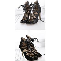 Fashion high heel ladies new design 2018