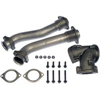 Turbocharger Up-Pipe Kit -Includes Hardware And Gaskets Exhaust Manifold