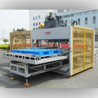 Hot plate welding machine for plastic pallet/plastic tray