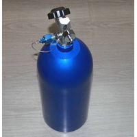 10lbs Nitrous Bottle Valve with Hi-flow Valve