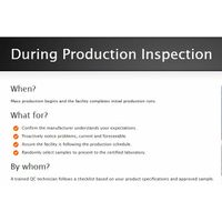 In-Production Inspection (IPI)