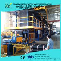 APP modified bitumen waterproof membrane making machine thumbnail image