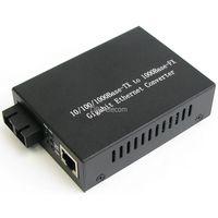 1000 Base TX to 1000 Base FX Gigabyte Ethernet Fiber Media Converter