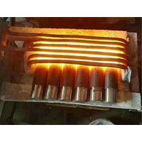 Steel bar brass rod induction heating forging machine