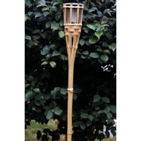 Solar Bamboo Torch Light