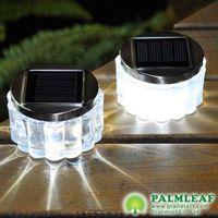 solar glass table lights
