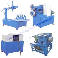 Tyre recycling machine for rubber powder