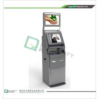 Free Standing Dual Screen Payment Kiosk