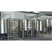 Stainless steel customized 3 barrel brewing system for sale thumbnail image