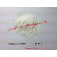 Bulking Cycle Anti-estrogen Steroids Clomifene citrate Legal Clomid CAS 50-41-9 Muscle Growth