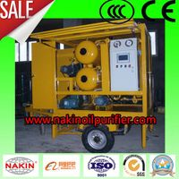 vacuum insulating oil purifier, oil filtration with trailer