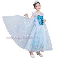 Princess Dress for Children Halloween Christmas Costume Birty Party Children Dress