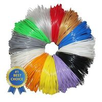 PLA &ABS 20pcs Color Box Pack 3D Pen Filament ,1.75mm