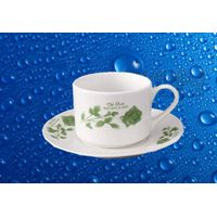 Porcelain Cup & Saucer Sets with Customized Design,SA8000,SMETA Sedex/BRC/BSCI/ISO Audit thumbnail image