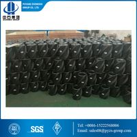 API composite resin centralizer for oil & gas well cementing