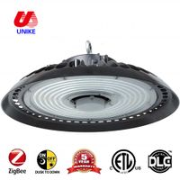 UNK-HB100P 5 years warranty factory sale industrial lighting 100w round led lights for warehouse DLC
