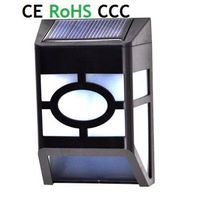 Made in China solar wall/fence light/Decorative Wall Mounted Outdoor Solar Lights Waterproof/Rainpro