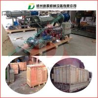high efficiency screw press cow manure dewater machine/cow dung solid-liquid separator