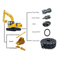 Undercarriage Parts for Daewoo Excavators thumbnail image