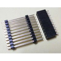 Single or double Row 2.54mm Round Female Header Strip