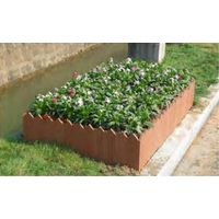 OEM square building termite proof flower box Anti-rot WPC pot