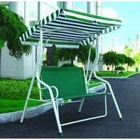 outdoor garden  three person swing chair patio swing folding swing chair/hammock