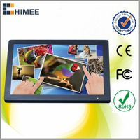HQ215-4B Wall back mounting lcd screen advertising display monitors for bus fast food restaurants