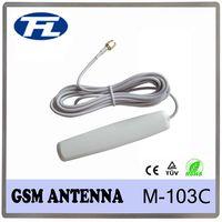 2dBi wireless booster white housing wifi antenna