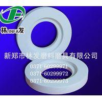 White corundum abrasive polishing wheel thumbnail image