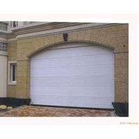 Automatic Sectional Overhead Garage Door with Windows thumbnail image