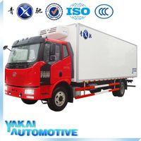 new fiberglass sandwich panel cargo truck