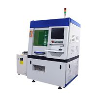 Precision laser cutting machine for silver and gold