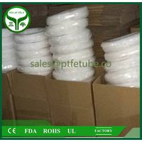 "good quality ptfe tube / tubing / pipe 1/2"" virgin PTFE tubing white ptfe tube / SUNIU"