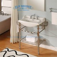 High quailty bathroom Steel vanity base with metal legs