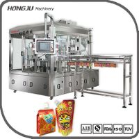 Automatic convenient standing spout bag filling and capping machine