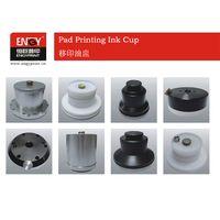 Sealed pad printing ink cup