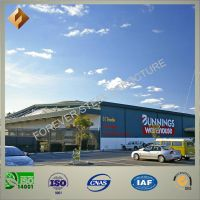 Well Approved Customized Prefab Steel Structure Warehouse