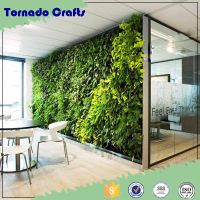 interior wall decoration artificial moss grass wall artificial green wall