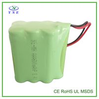 AAA 8.4V 600mah Ni-MH Rechargeable Battery