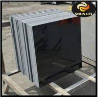 shanxi black granite floor tiles