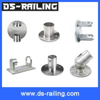 Safety Solid 304 Angle Adjusted Stainless Steel Casting Handrail Base thumbnail image